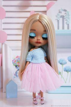 Купить Блайз №2 - бежевый, интерьер, подарок, кукла, подарок девушке, интерьерная кукла Fashion Dolls, Fashion Art, Valley Of The Dolls, Smart Doll, Cute Dolls, Ball Jointed Dolls, Doll Face, Big Eyes, Sweet Girls
