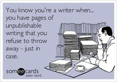 Created by Writers Write at Someecards ~~~~~ Writers Write offers the best writing courses in South Africa. If you want to learn how to write a book, write for social media, and improve. Writing Humor, Fiction Writing, Writing Advice, Writing A Book, Writing Prompts, Start Writing, Writing Ideas, Science Fiction, Writer Memes