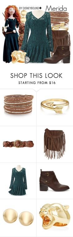 """Merida +"" by leslieakay ❤ liked on Polyvore featuring Chan Luu, Merida, Bling Jewelry, Polo Ralph Lauren, Glamorous, Forever 21, StrangeFruit, women's clothing, women's fashion and women"