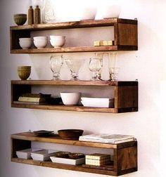 FLOATING box shelves hand made -------------Free shipping till feb.1