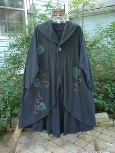 1996 Visionary Jacket Abstracts Black Size 2 - BlueFishFinder