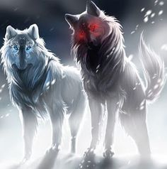 She Wolf Night: Divine Canines: Odin's wolves, Geri and Freki