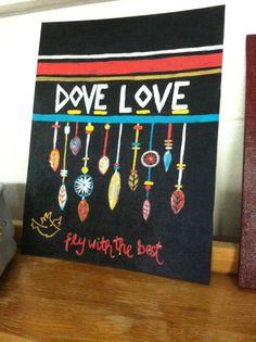 Sigma kappa craft! Dove love