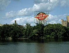 Historic Grain Belt Beer sign in Minneapolis, Minnesota