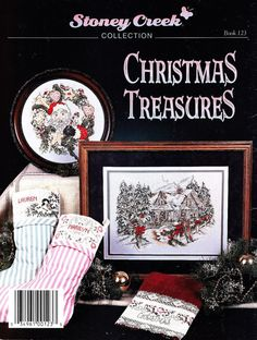 Christmas Treasures Cross Stitch Pattern Booklet