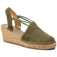 Espadrile TONI PONS - Tremp  Caqui Textiles, Espadrilles, Wedges, Platform, Shoes, Products, Fashion, Shoes Sandals, Zapatos