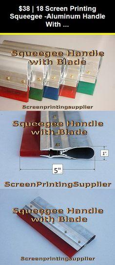 Speedball Graphic Squeegee 65 Durometer 6