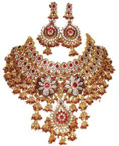 Gold Jewellery Designs | new gold jewellery designs 2012 406x500 Gold Jewelry Designs 2012 ...