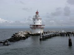 Brandywine Shoal Light, Delaware Bay, New Jersey