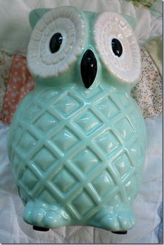 . Blue In Green, Favorite Color, Favorite Things, Light Turquoise, Aqua, Owls, Blues, Creatures, Decorations