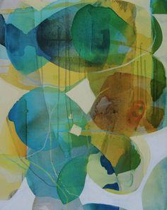 "Saatchi Art Artist Liz Barber; Painting, ""Summer 3"" #art"