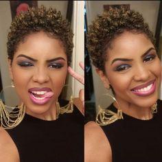 Natural Hair Short Cuts, Short Natural Haircuts, Tapered Natural Hair, Short Sassy Hair, Natural Hair Styles For Black Women, Short Hair Cuts, Short Relaxed Hairstyles, Natural Hairstyles, Twa Hairstyles
