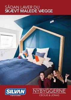 """Gør-Det-Selv-Tips: skævt malede vægge I samarbejde med """"Nybygger"""