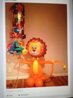 Love the lion!