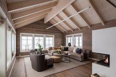 FINN – Suleskard Fjellgaard - Prosjektert familievennlig hytte med blant annet to stuer, fire soverom og tre bad.