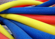 """Recently, we've had several inquiries at PE Central asking, """"As a physical education teacher, how can I use soft swim pool noodles appropriately in my physical education class? Soft foam swim pool noodles are a versatile, low … Read Elementary Physical Education, Physical Education Activities, Pe Activities, Health And Physical Education, Gross Motor Activities, Movement Activities, Kids Education, Special Education, Noodles Games"""