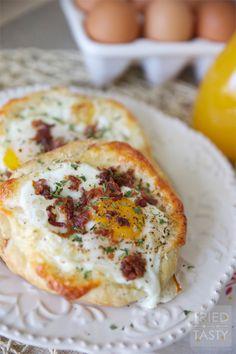 Quick & East Bacon, Egg & Cheese Breakfast Tart