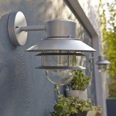 Applique Descendante Exterieure Copenhagen E27 Galvanise Elstead Leroy Merlin Eclairage Exterieur Terrasse Maison Exterieur
