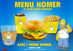 Simpsons Doughnut | Europe Gives Homer Simpson His Own Donut-Themed Menu
