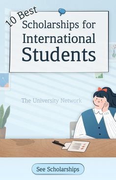 Here are 10 of the best scholarships for international students - happy applying!