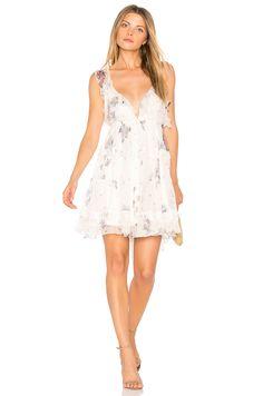 7f026bc5dd07 Shop for Karina Grimaldi Dulce Silk Mini Dress in White Rendezvous at  REVOLVE.