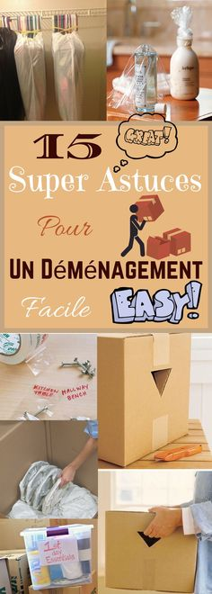 15 Super Astuces pour un - Fr Decora la Maison Hallway Bench, Journal Organization, Flylady, Moving Tips, Moving House, Used Iphone, Good To Know, Diy Projects, Bottle