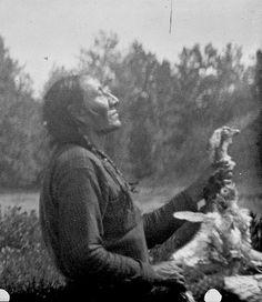 Mad Wolf praying (S. Piikani).