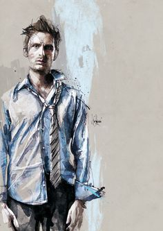 Particularly liking the shirt... Movie Characters by Florian Nicolle