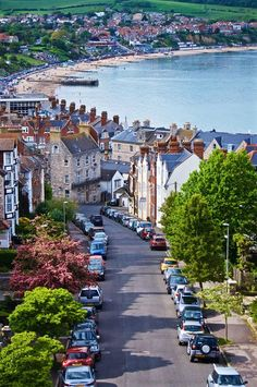 .~Roads that lead to the sea: Swanage, Dorset, England~.