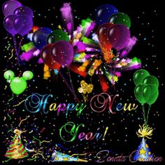 Animated New Year Wishes Happy New Year Gift, Happy New Year Quotes, Happy New Year 2016, Happy New Year Greetings, New Year Greeting Cards, New Year Gifts, Photos Nouvel An, Happy New Year Animation, Happy New Year Pictures