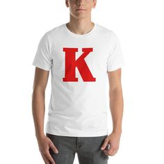 """Red K Hearts King Diamonds Playing Card Halloween Costume T-Shirt – """"Game … - Couples Costumes Cheap Easy Halloween Costumes, Funny Halloween, King Card, King Costume, King Diamond, T Shirt Costumes, Playing Cards, Diamonds, Hearts"""