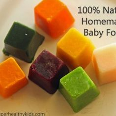 Homemade Baby Food Basic Recipes...Kelsi, tells us how to cook individual fruits/veggies!