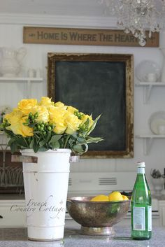 FRENCH COUNTRY COTTAGE: Cottage Kitchen Tour