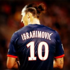 Zlatan Ibrahimovic PSG- I don't find him that attractive but I do like his name :)
