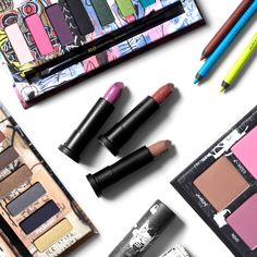 UD Jean-Michel Basquiat collection from Urban Decay, review and swatches