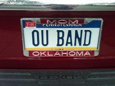 Oklahoma Sooners License Plates