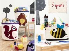 #Opruimen met boxen van #3Sprouts | Vind gemakkelijk de dealers van #3Sprouts via Kinderkamerstylist