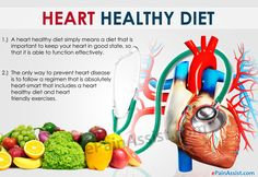 How Heart Healthy Is Your Diet?  When so much is spoken about the importance of staying healthy and fit, it is needless to say that your heart needs to remain healthy too.   #Diet #Foods #HeartHealth