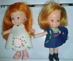 bonecas vivinhas ruiva e loira - estrela