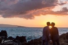 No two sunsets are ever the same. No two loves are ever the same. That is part of life's magic - Bliss Wedding Design - Maui, Hawaii - Kukahiko Estate