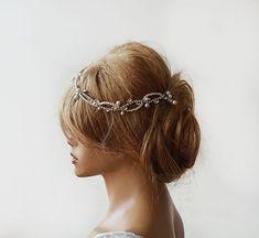 Hochzeit Hochzeit Strass und Perle Stirnband Bridal von ADbrdal