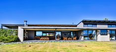Industrial House, Modern Industrial, Outdoor Spaces, Outdoor Living, Sustainable Design, Facade, Living Spaces, Mansions, House Styles