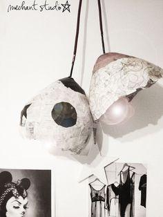 Méchant Design: egg lamps styling
