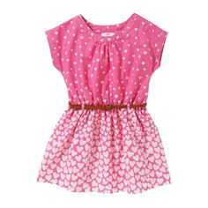 Joe Fresh Toddler Girls' Print Dress. Got this for E for Valentine's Day and love it