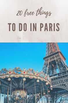 Check out my ultimate list of the top free things to do in Paris. My 20 Free Things to do in Paris list has everything from how to check out museums for free to the best selfie spots. More on Earth Be Eurotrip, Paris France Travel, Paris Travel Guide, Paris Things To Do, Free Things To Do, Things To Do Alone, Versailles, Rio Sena, Paris Bucket List