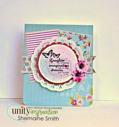Unity Stamp Co. - Stamp of the Week - Laughter imagination dreams   Sign Up Here ----------->http://unitystampco.com/shop/stamp-of-the-week/ This is the Stamp of the Week for 10.6.13 - 10.13.13. WHEN you sign up you can get ALL PAST STAMPS of the week for only $4.