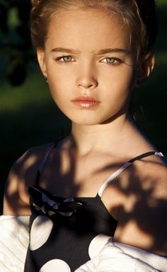 Russian child model Anastasia Bezrukova. Russian beauty. Russian girls