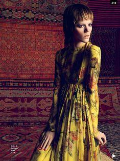 Freja Beha Erichsen for Vogue Australia by Inez and Vinoodh