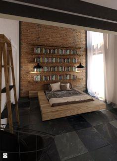 Sypialnia styl Industrialny - zdjęcie od KONZEPT Architekci - Sypialnia - Styl Industrialny - KONZEPT Architekci