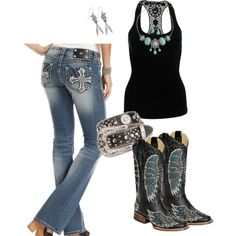 Miss Me Jeans. Miss me jeans. Only wore them once. Miss Me Jeans Country Style Outfits, Country Wear, Country Girl Style, Country Fashion, My Style, Country Attire, Cowgirl Outfits, Cowgirl Style, Western Outfits